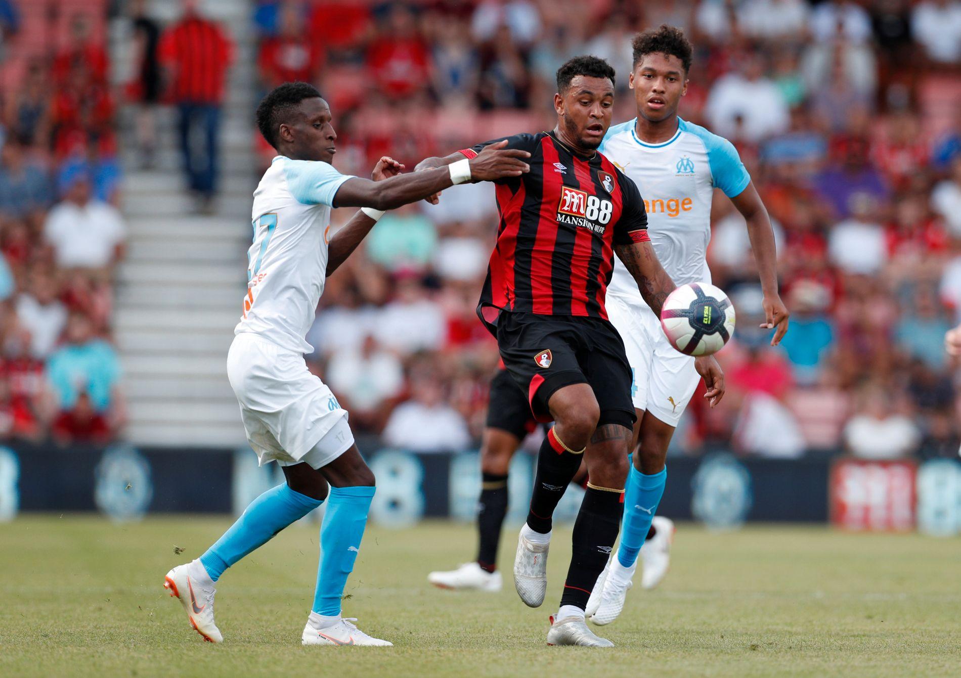 GOD: Joshua King har vist god form i sesongoppkjøringen, som da han scoret to mål mot franske Marseille.