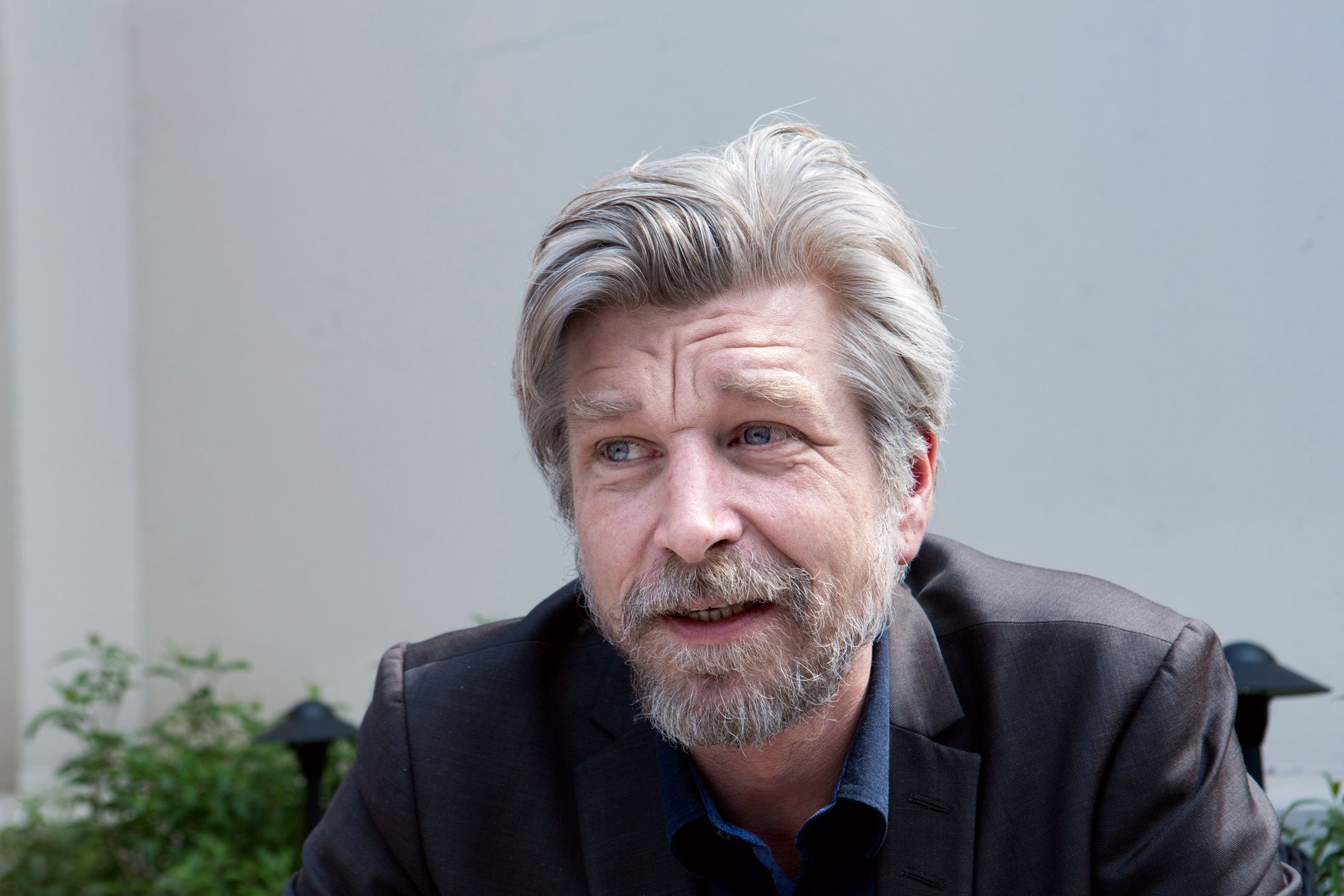 I MÅL: Karl Ove Knausgård har fullført sin årstidssyklug - og «Om sommeren» er en flott finale, mener VGs anmelder som har fulgt forfatterskapet tett de siste årene. Her fotografert i forbindelse med norsk-amerikansk litteraturfestival i New York tidlig i sommer.