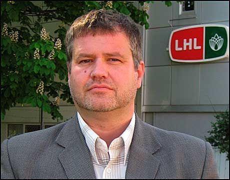 NY LEDER: Frode Jahren tar over som ny generalsekretær i LHL. Foto: