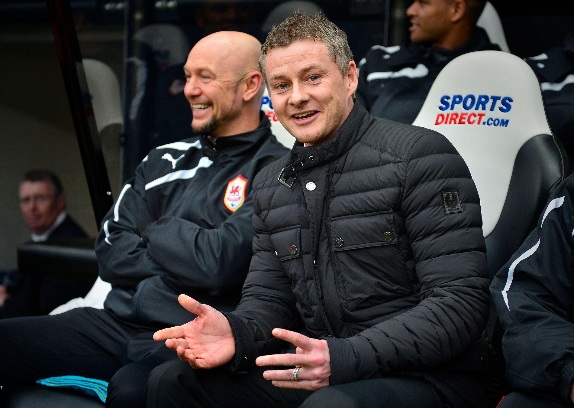 FØR: Mark Dempsey var Ole Gunnar Solskjærs høyrehånd i Molde og Cardiff. Nå er Dempsey i Start og uttaler seg kritisk til Molde-spillerne.