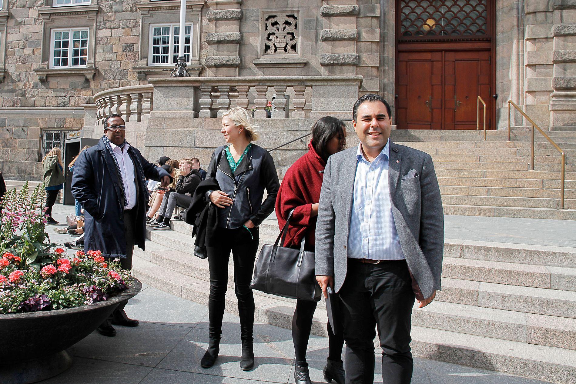 NYTT? Forslagene til Aps migrasjonsutvalg og lederen Masud Gharahkhani skaper reaksjoner.