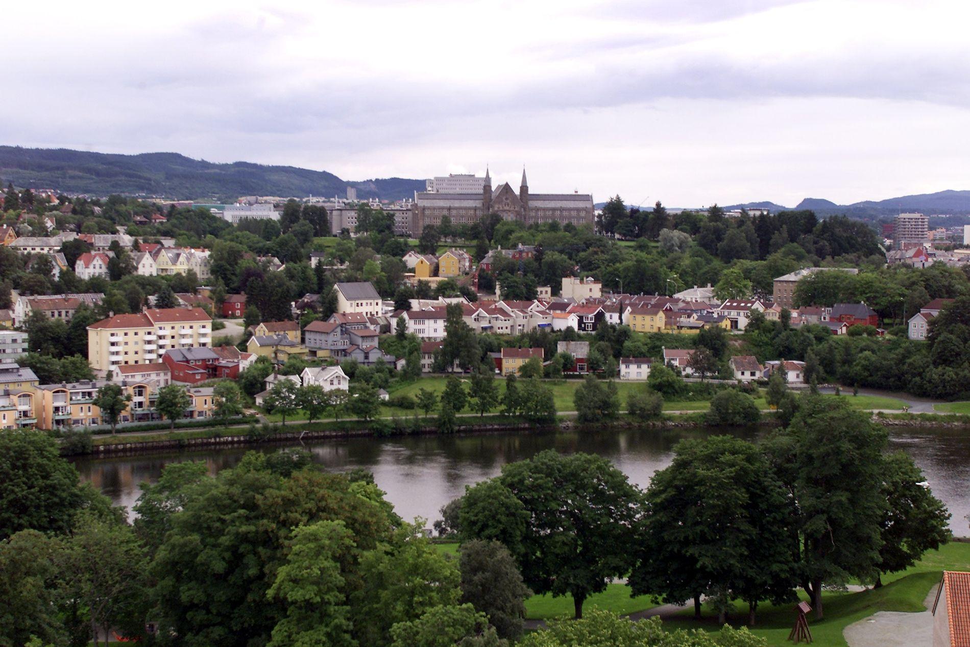 STABILT: Trondheim har stabile boligpriser, og har hatt en jevn utvikling de siste årene.