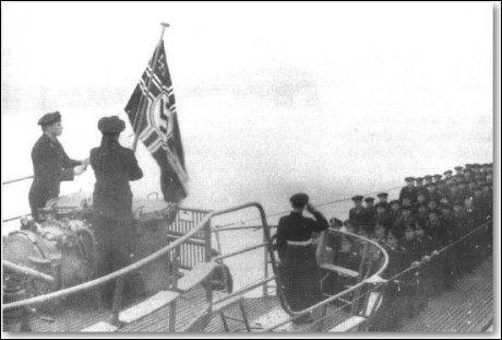 FORLISTE: Den tyske ubåten u-864 forliste utenfor Fedje under krigen. Foto: Kystverket