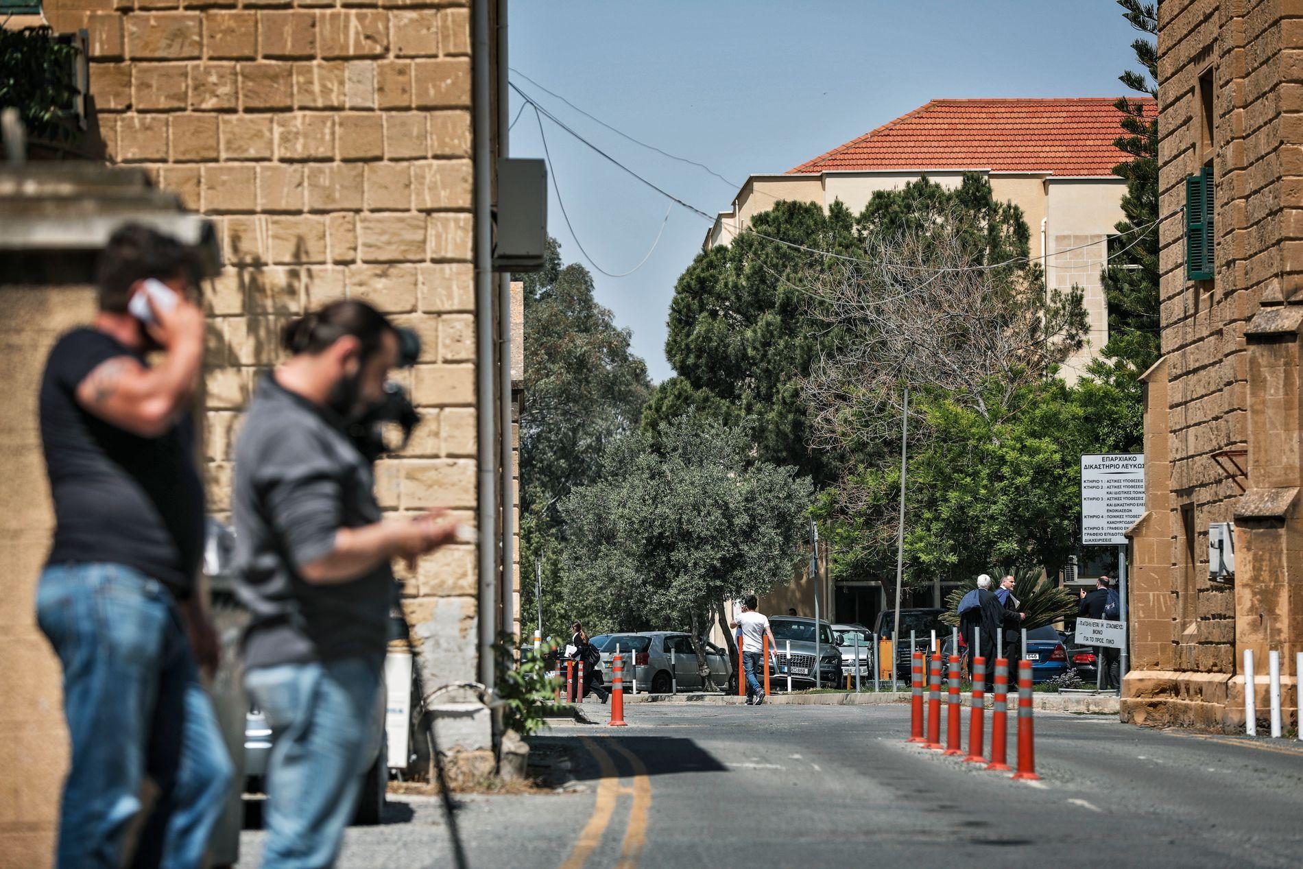 PÅGREPET: Fire menn er pågrepet i forbindelse med bortføringen av den tre år gamle jenta på Kypros. Mennene fremstilles for retten fredag.