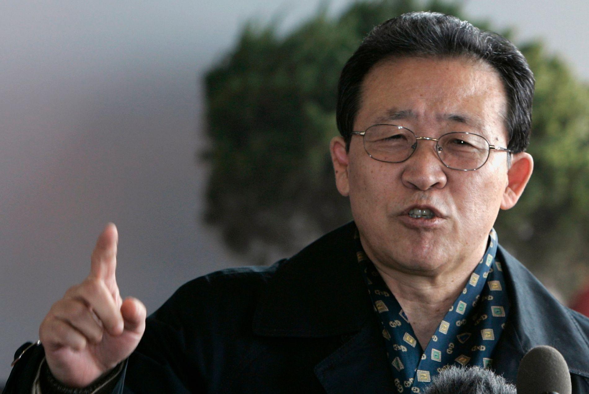 PROVOSERT: Nord-Koreas viseutenriksminister Kim Kye-gwan, her fotografert i Beijing i 2007.
