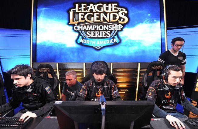 Laget «Team Curse» under det nordamerikanske mesterskapet i spillet League of Legends tidligere i år.