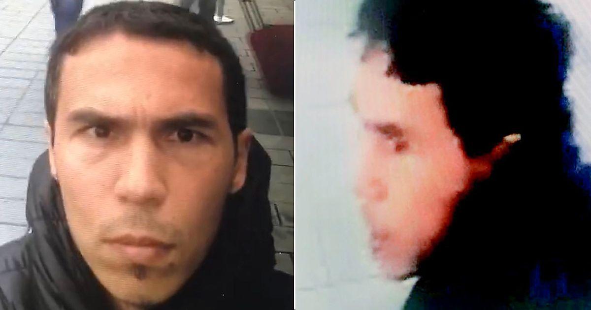 MISTENKT: Bildet til venstre er publisert av tyrkiske myndigheter, og viser den hovedmistenkte. Det er hentet fra en video der han ordløst filmer seg selv på det som ser ut til å være Taksim-plassen i Istanbul. Det er uklart hvordan politiet har fått tak i videoen. Til høyre er det som skal være samme person fanget av et overvåkningskamera. Foto: Handout
