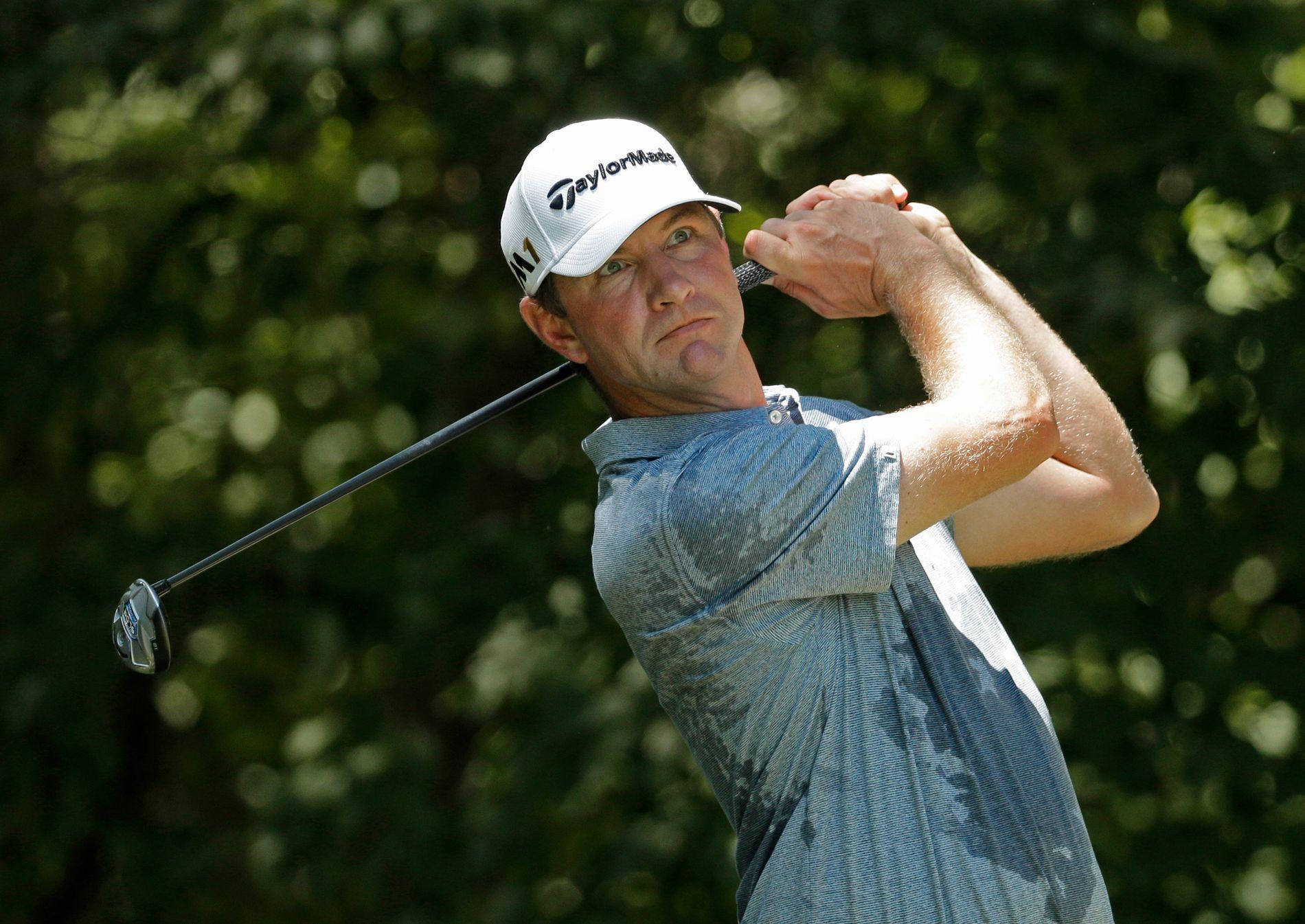 FIKK GJENNOMGÅ: Lucas Glover (38) vant US Open for ni år siden. I Florida sist helg ble han angrepet av kona Krista i The Players Championships.