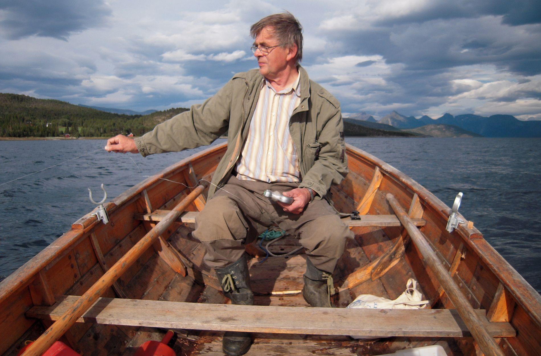 PAPPA: Dette er et av favorittbildene Erlend Elias har av sin far, Per Magnus Bratsberg Bragstad.
