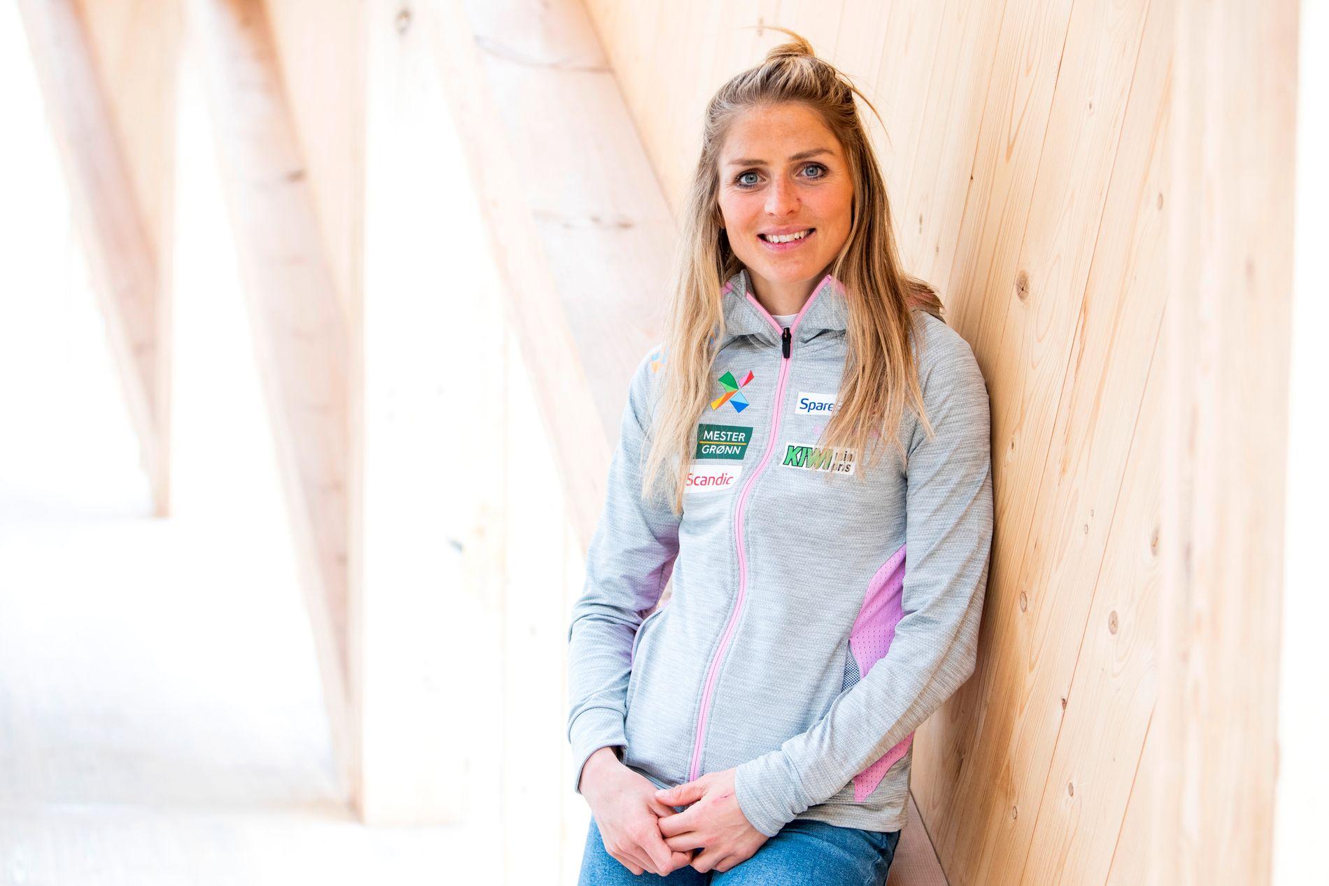 VM-DRONNING: Therese Johaug grep tronen som var ledig med ski og staver da Marit Bjørgen la opp - og vant så godt som alt i comebacksesongen. Her er hun på landslagets treningssamling på Sognefjellet i begynnelsen av juni.