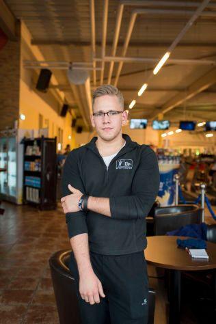HUSKER HAN GODT: Andreas Lubitz pleide å trene på 'Fit-Up' i Montabaur. Christian Schmidt (24) jobber på treningssenteret og møtte han flere ganger.