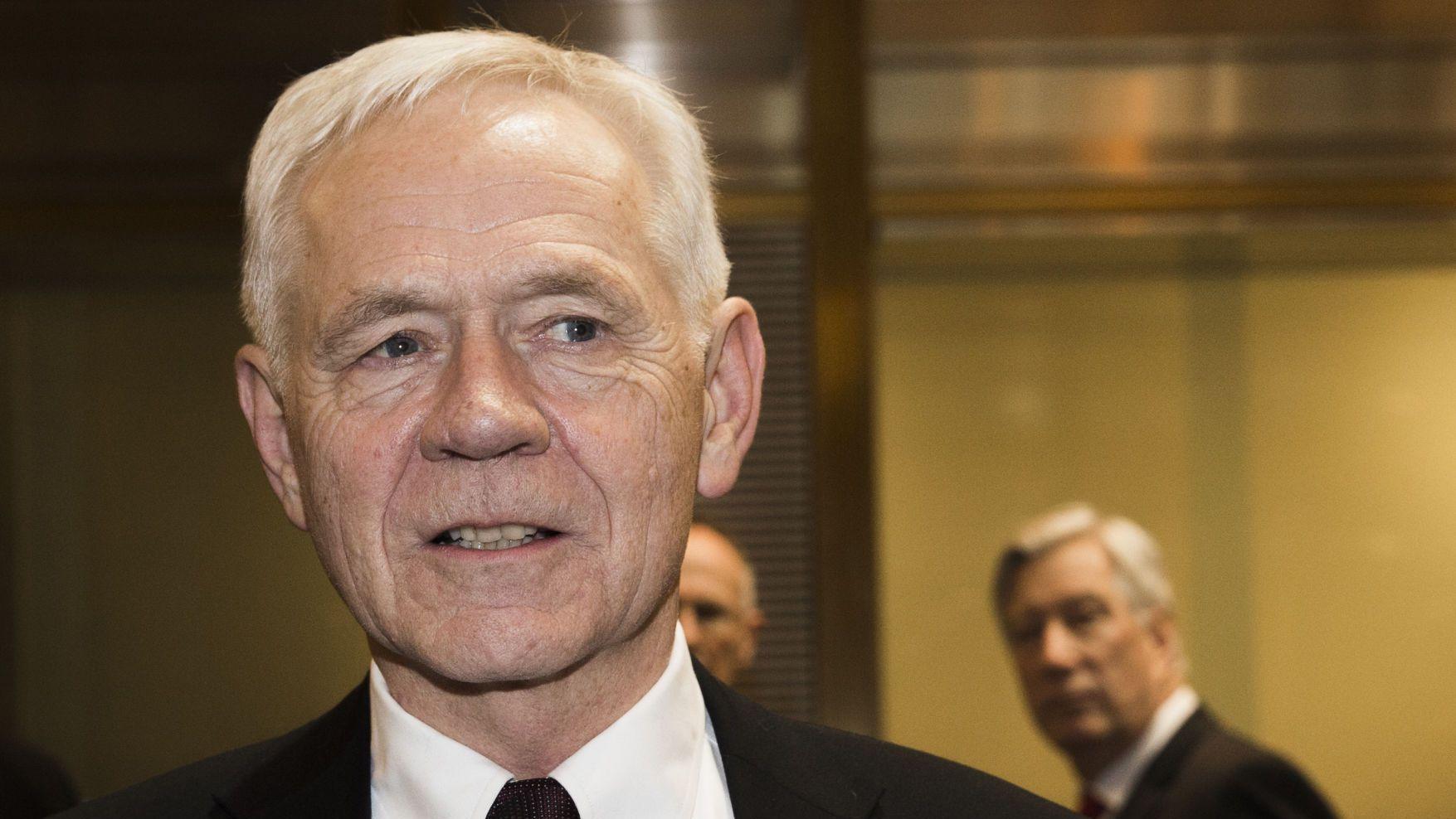 HØYRE-MANN: Victor D. Norman var arbeids- og administrasjonsminister i Bondevik-regjeringen. Han representerer fortsatt Høyre, nå i bystyret i Bergen.