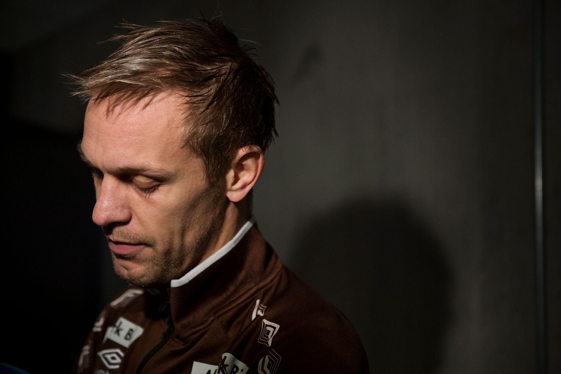 VEMODIG: Mads Hansen tror det blir rart å følge Mjøndalen fra TV-skjermen.