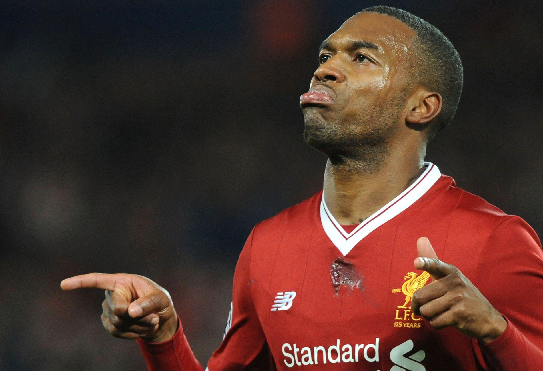 SPILLER LITE: Daniel Sturridgeh ar bare startet fem kamper for Liverpool i Premier League denne sesongen.