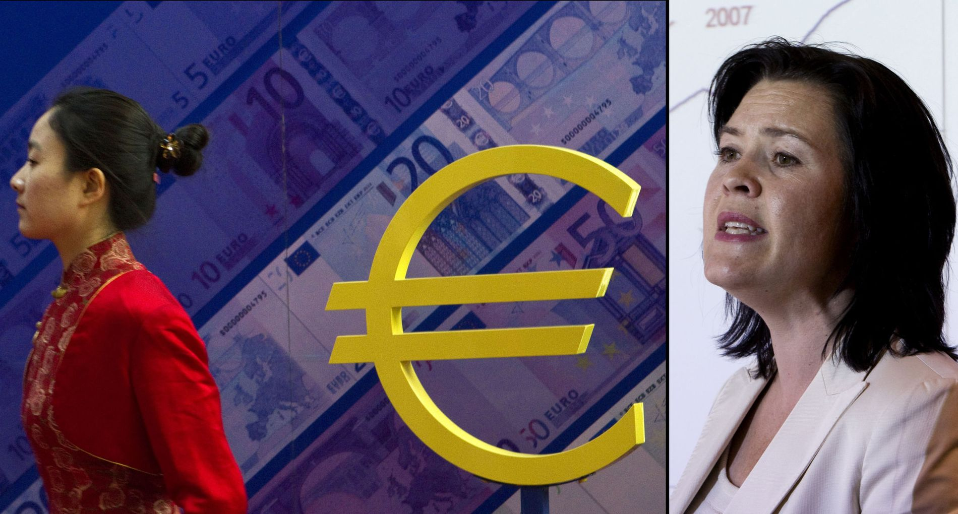 VENDER EURO RYGGEN: Sjeføkonom Elisabeth Holvik i Sparebank 1 Gruppen mener de politiske kostnadene ved å utjevne ubalansene i euroområdet blir for store.