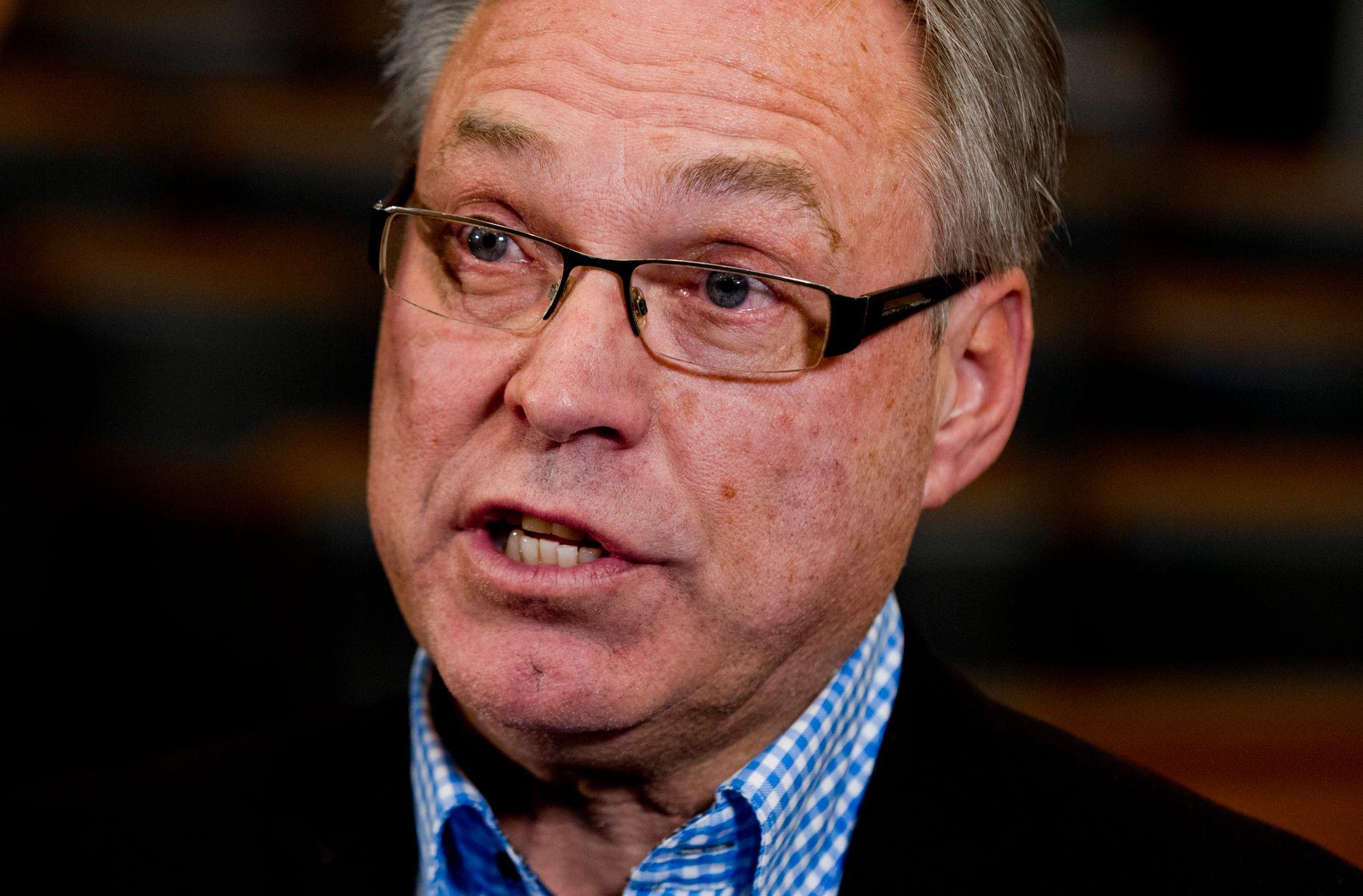 FÅR KRITIKK: Flere ber Harald Tiedemann Hansen om å trekke seg som leder for Norges Cykleforbund. Foto: NTB scanpix