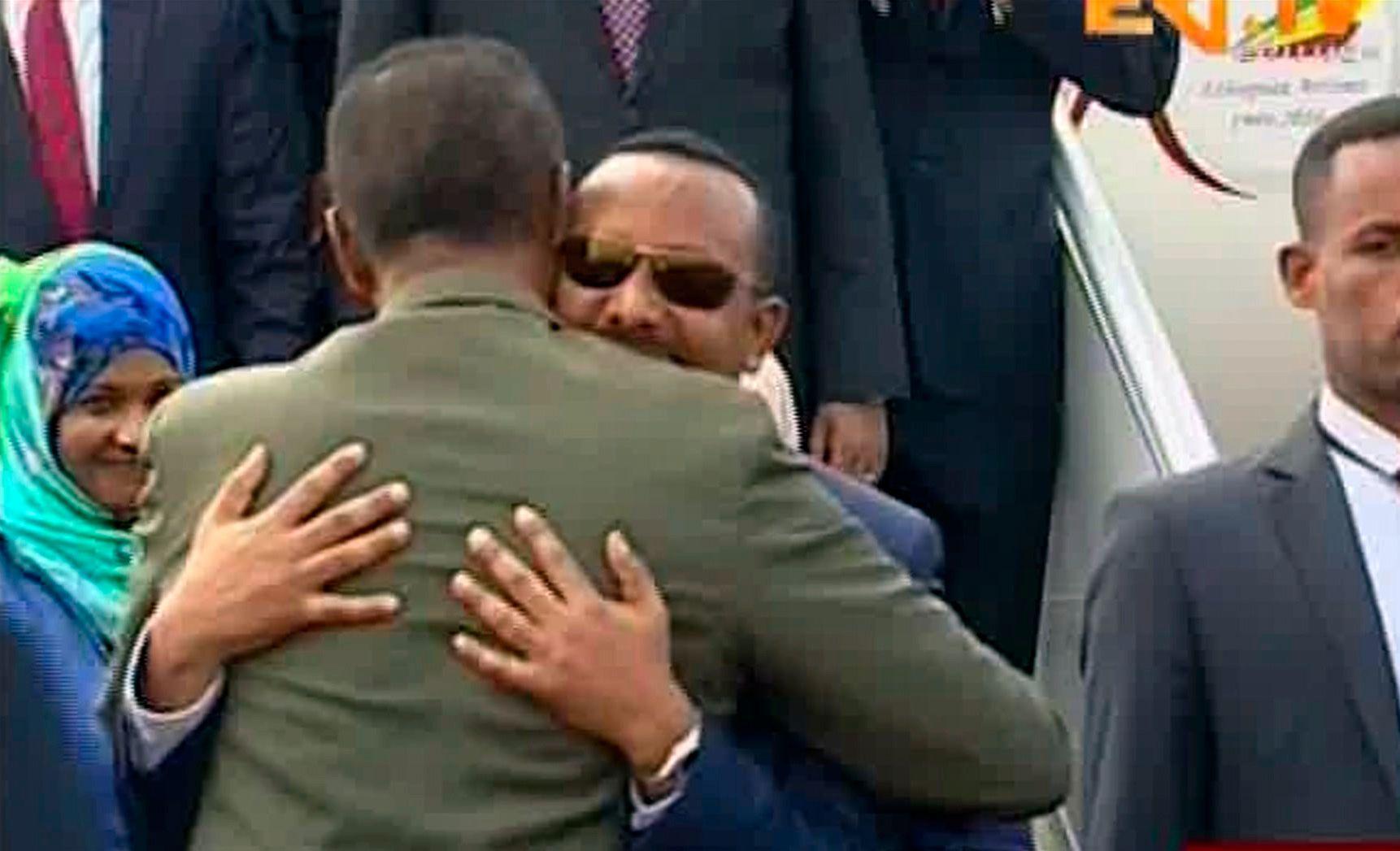 GOD TONE: Etiopias statsminister Abiy Ahmed og Eritreas president Isaias Afwerki har kommet frem til en avtale som vil normalisere forholdet mellom de to nabolandene.
