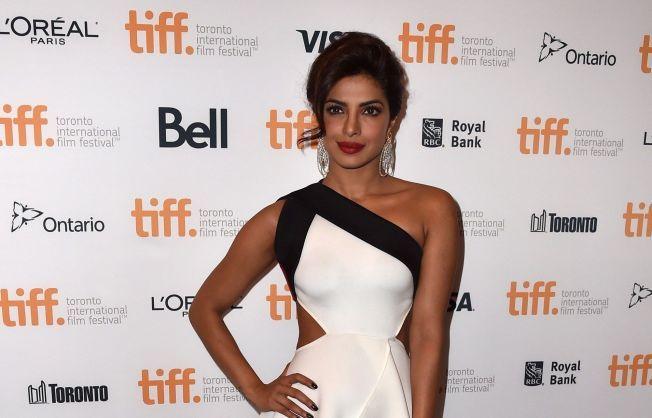 FILMFESTIVAL: Priyanka Chopra på premieren av «Mary Kom» under filmfestivalen i Toronto i september i år.