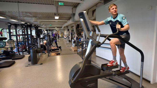OPPTRENING: VG møtte Mats Møller Dæhli på Toppidrettssenteret i Oslo i mai. Da hadde han slitt med kneet i flere måneder.