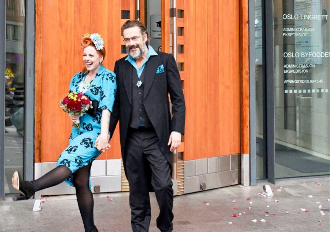 GIFT: Silya forteller at hun giftet seg med sin drømmemann og bestevenn, Espen Leite.