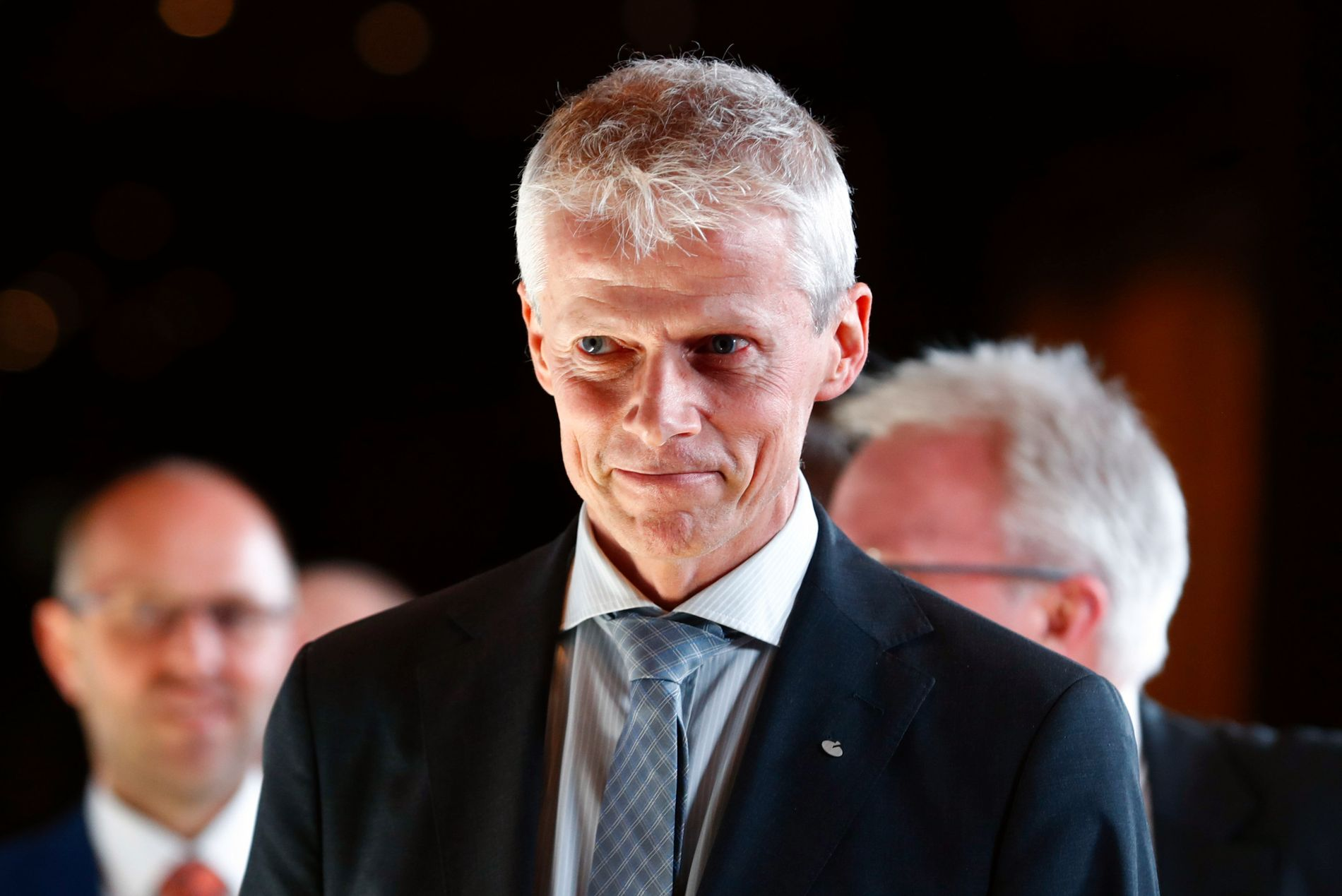 SKATTEDIREKTØR: Hans Christian Holte, her på vei inn til NHOs årsmiddag i januar i år.