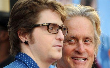 NARKOTATT: Skuespiller Michael Douglas' sønn ble arrestert for besittelse av metamfetamin. Foto: AFP