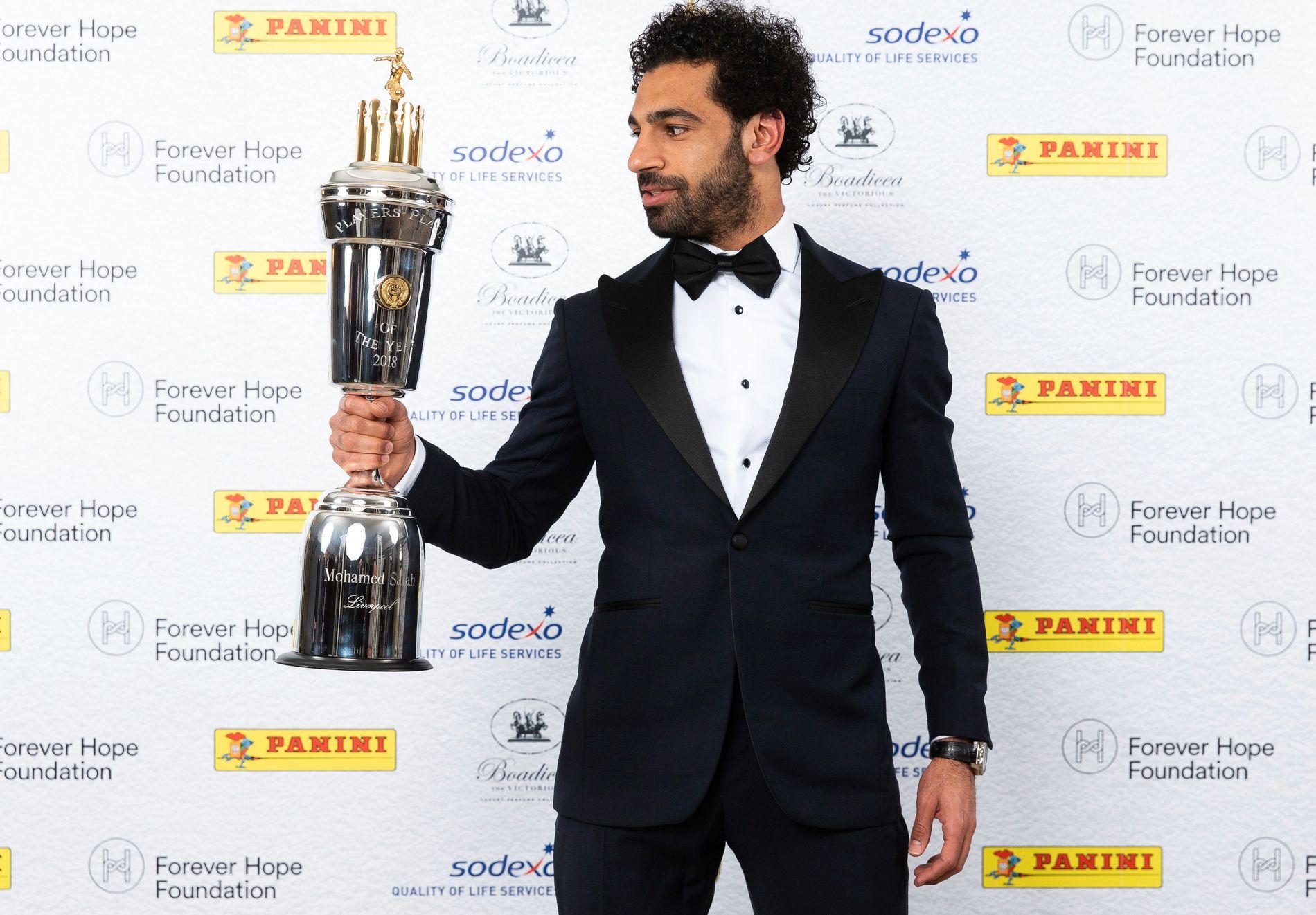SPILLERNES VALG: Spillerne kåret Mohamed Salah til Sesongens spiller i Premier League.