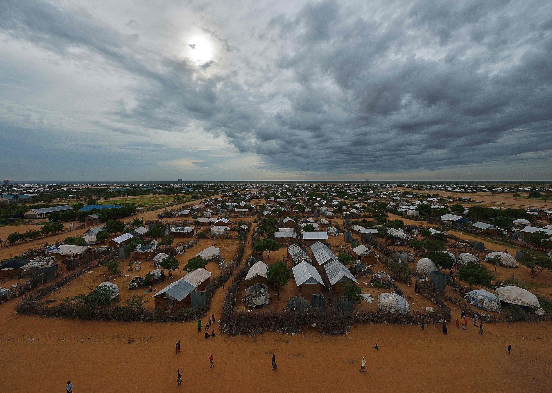ANGREPET: Fire av Flyktninghjelpens ansatte ble kidnappet av en væpnet bande i Dadaab-leiren i Kenya i 2012. Det er det verste angrepet i Flyktninghjelpens historie.