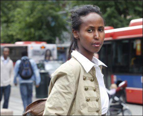 ØNSKER DEBATT: Mange somaliere ser på det å skille seg som eneste innntektsvei, sier Kadra Yusuf. Foto: Roger Neumann