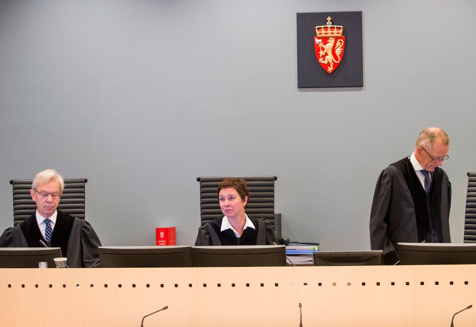 KORRIGERTE FORSVARERNE: Dommer Kristel Heyerdahl brøt inn i utspørringen en rekke ganger.