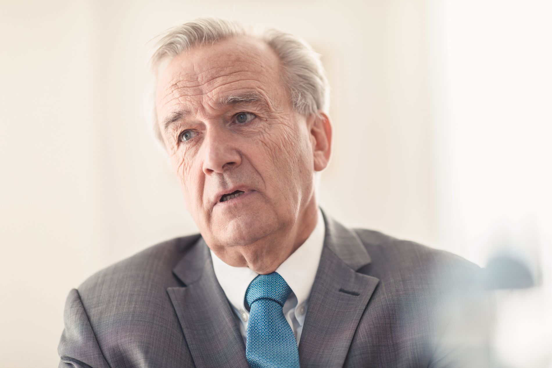 UTTALER SEG IKKE: Riksadvokat Tor-Aksel Busch vil ikke kommentere avgjørelsen.