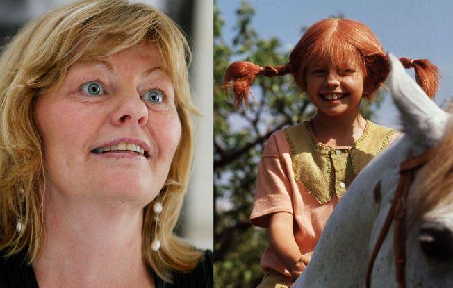NÅ OG DA: Inger Nilsson (55) vil for alltid forbindes med sin legendariske tolkning av Pippi.