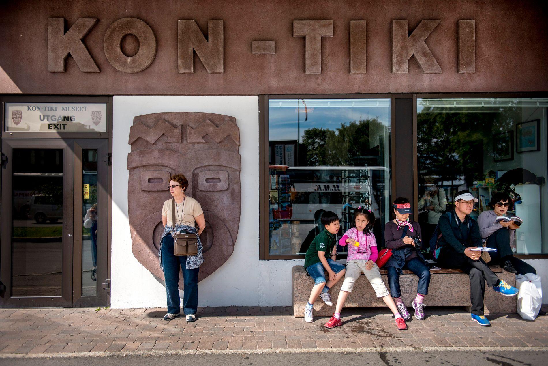 PÅSKEØYA: Chilenske myndigheter jobber for å få deler av Kon-Tiki-utstillingen hjem.