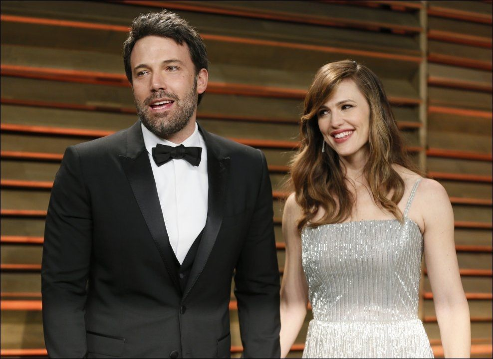 FOR GOD: Ben Affleck var på ferie i Las Vegas med kona Jennifer Garner da han ifølge casinoet var for flink til å spille Blackjack. Foto: REUTERS