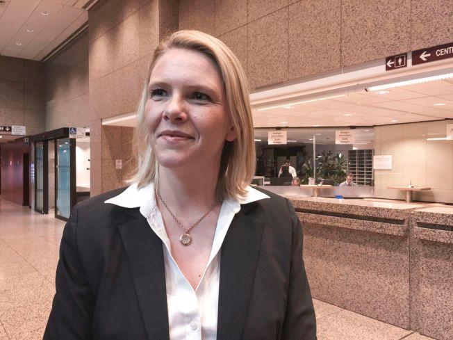 SVARER SV: Innvandringsminister Sylvi Listhaug.