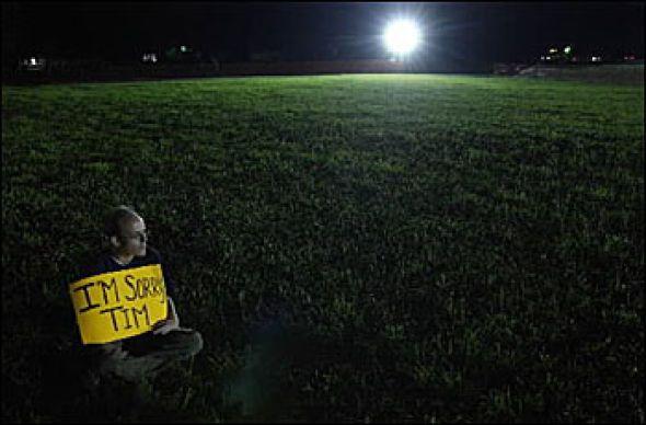 Timothy McVeigh(33) skal ha brukt sine siste timer til å spise mint-is, se tv og sove.