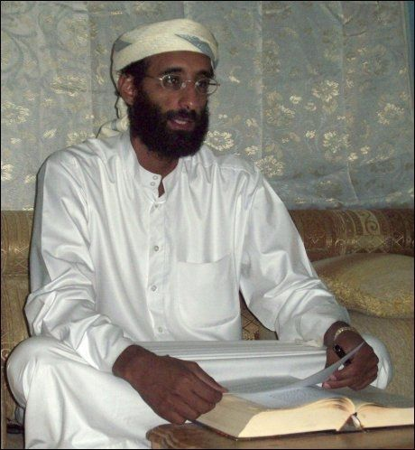 DREPT: Anwar al-Awlaki. Foto: AP