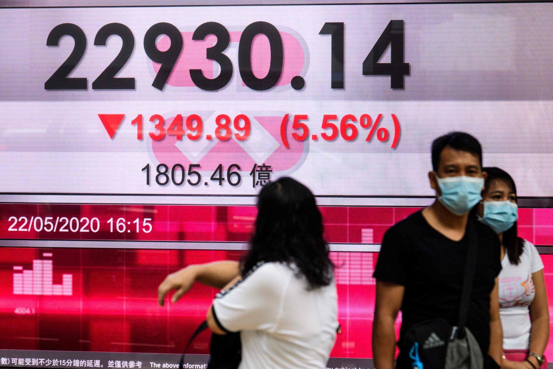 Bred nedgang i Asia