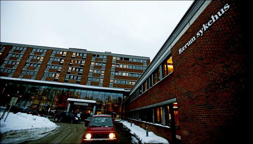 FÅR STRAFF: Vestre Viken HF har fått fem millioner kroner i bot etter rot med ventelister ved Sykehuset Asker og Bærum. Foto: Scanpix