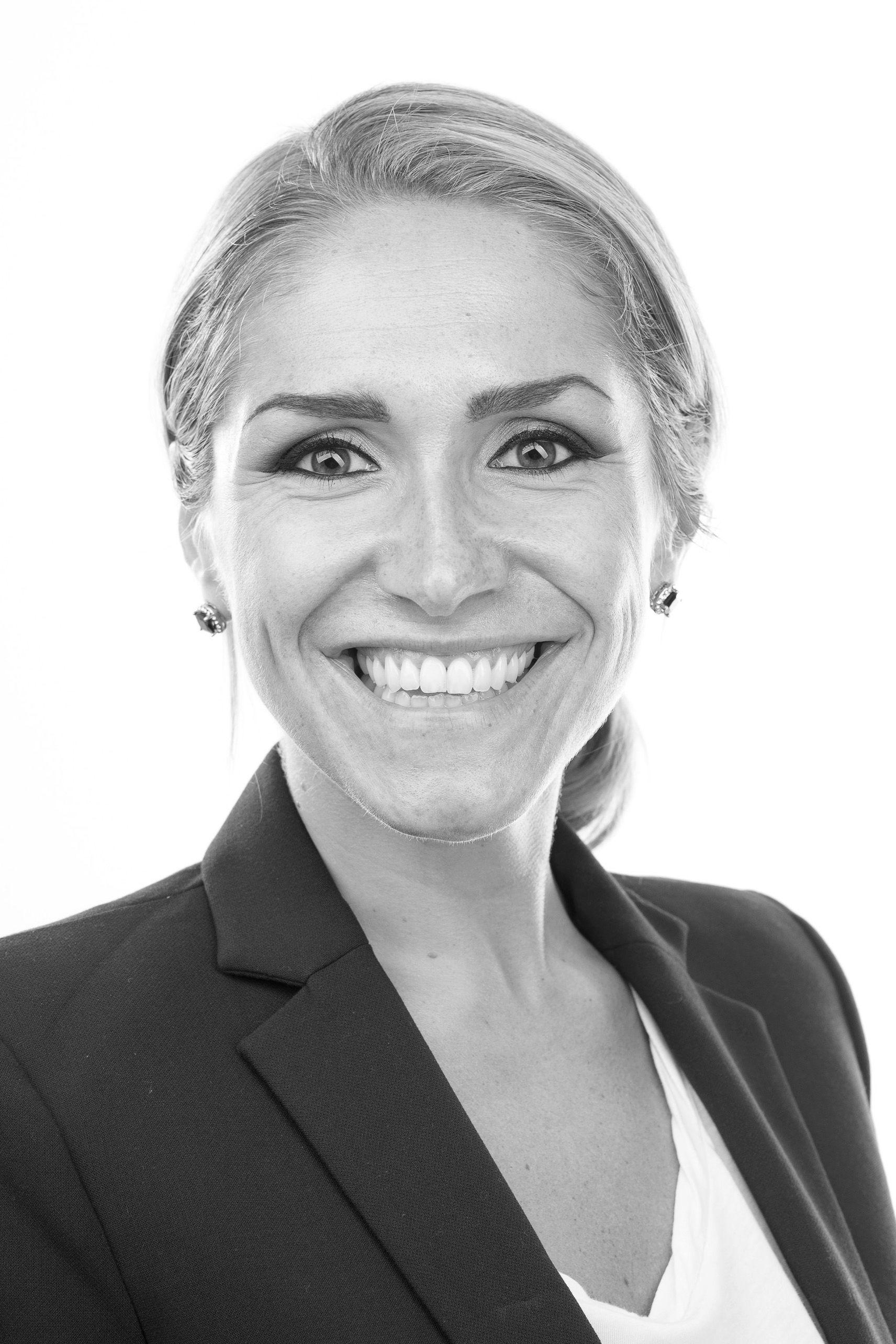 Eiendomsmegler Helene Solberg hos DNB Eiendom.