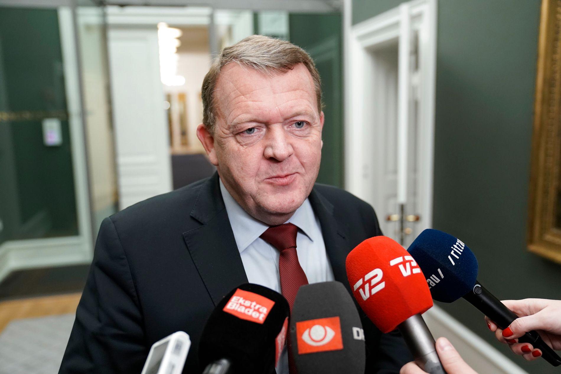 NYTTÅRSTALE: Statsminister Lars Løkke Rasmussen, her fotografert i desember, holdt i dag sin nyttårstale.