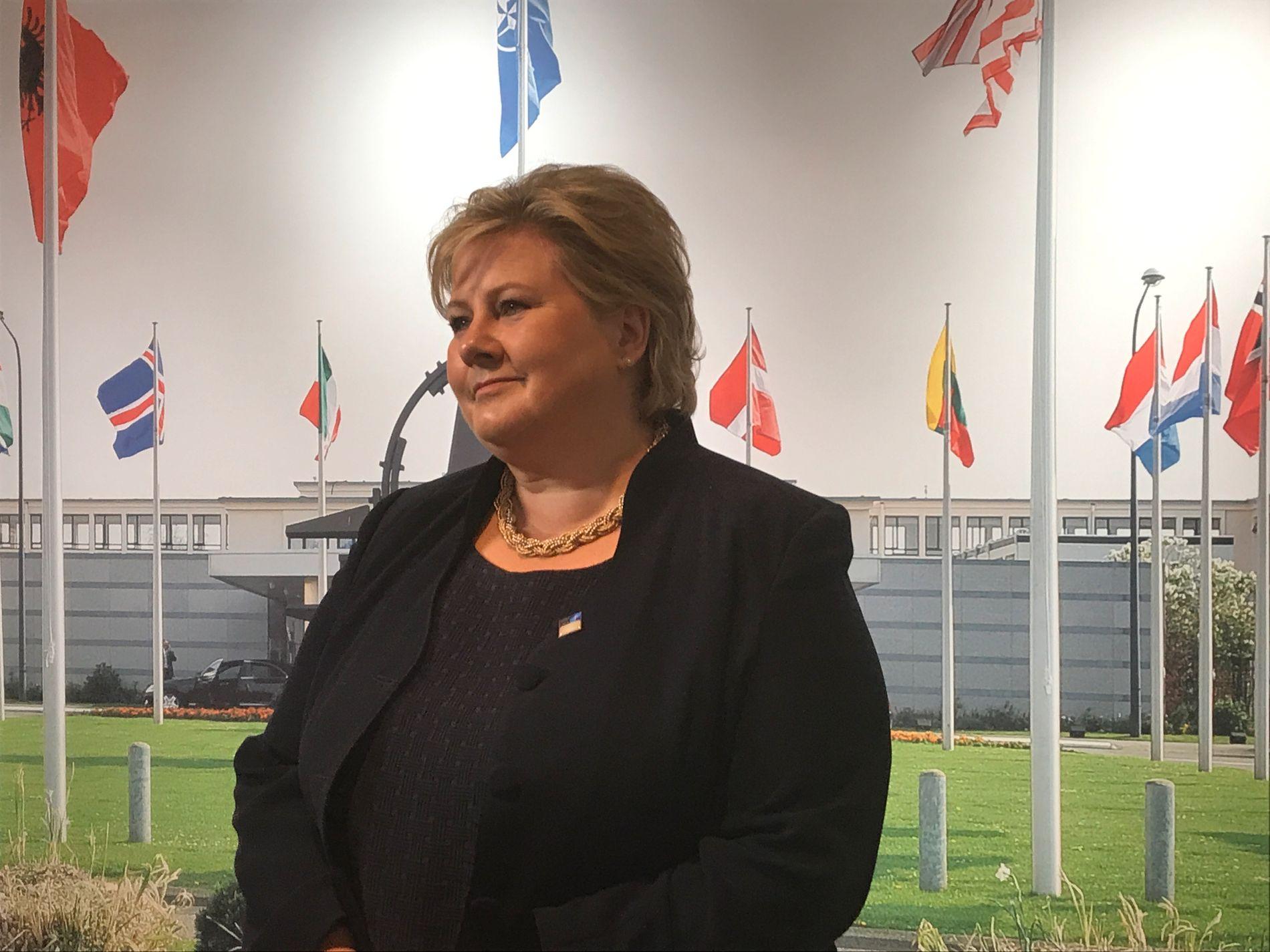 Statsminister Erna Solberg sier regjeringen har gjort mye for å styrke beredskapen i Norge