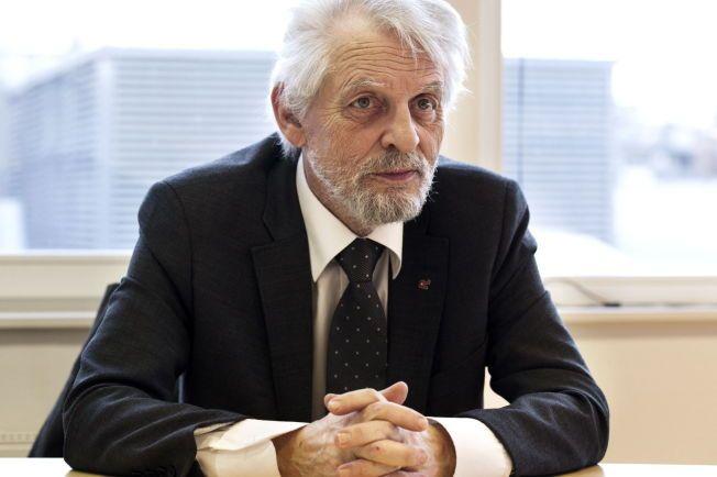 IKKE IMPONERT: Tidligere riksrevisor Jørgen Kosmo mener langt mer burde vært gjort, særlig etter terroren i 2011. Et halvt år før 22. juli advarte han i en revisjonsrapport om at beredskapen i Norge var alt for dårlig.