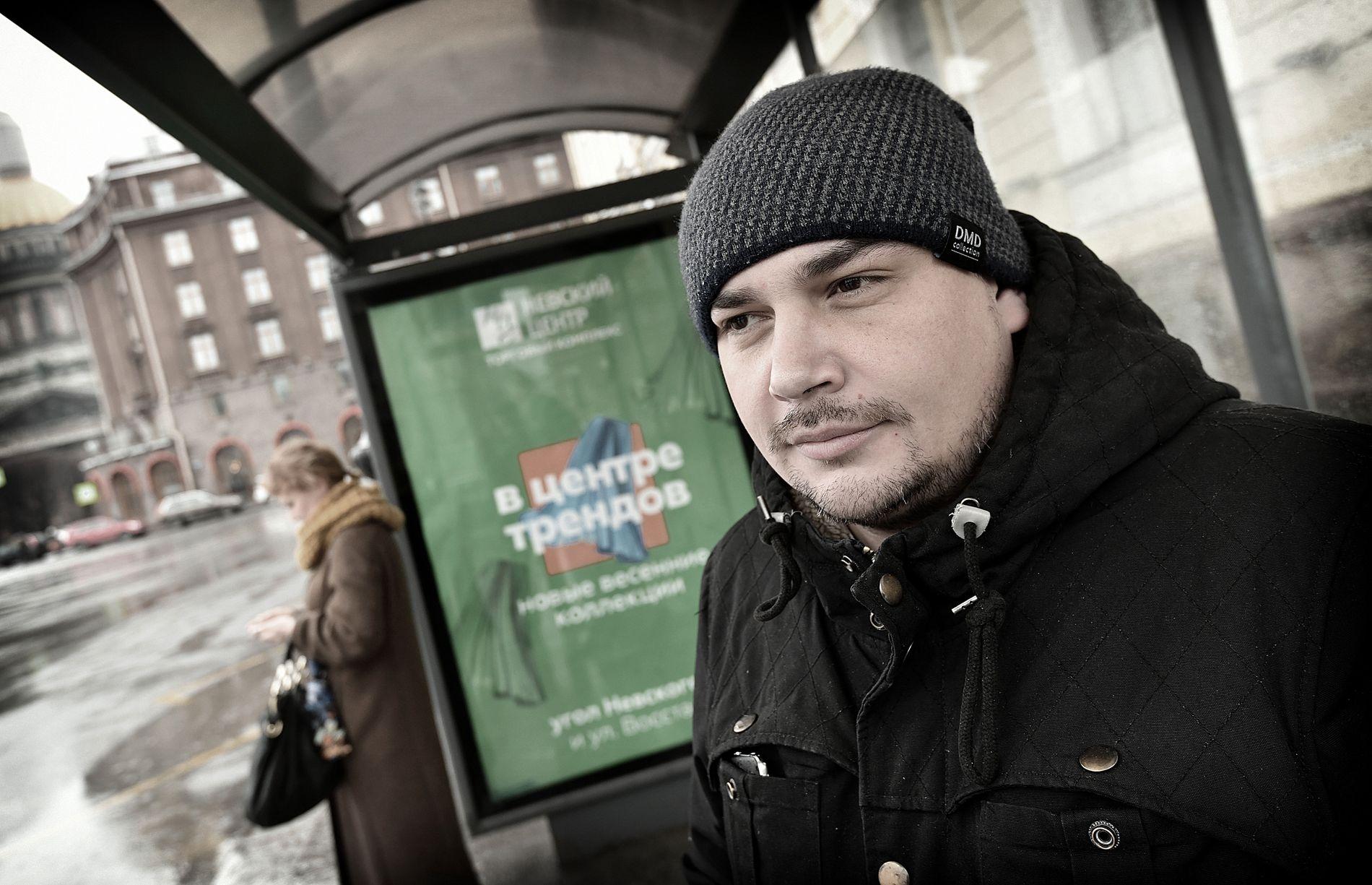 UKJENT: Russiske Ivan Sergejev har ikke engang hørt om saken som de siste dagene har preget aviser i Europa.