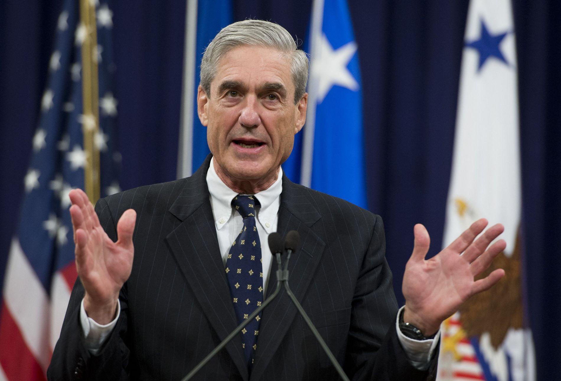 FORTSETTER: Spesialetterforsker Robert Mueller er ikke ferdig med rapporten om Russland-etterforskningen.