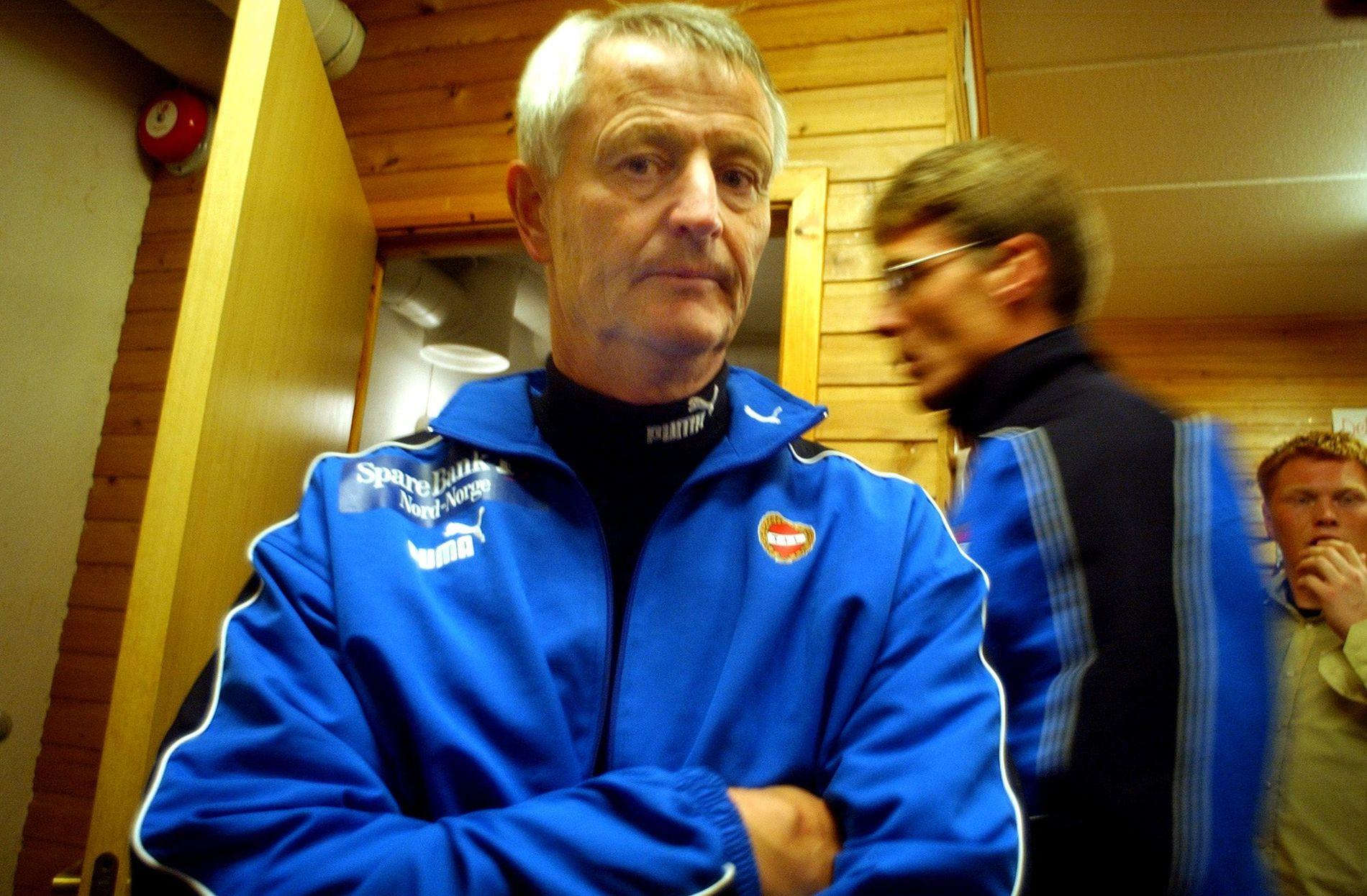 DØDE: Terje Skarsfjord har gått bort. Dette bildet er fra en TIL-kamp tilbake i 2003.