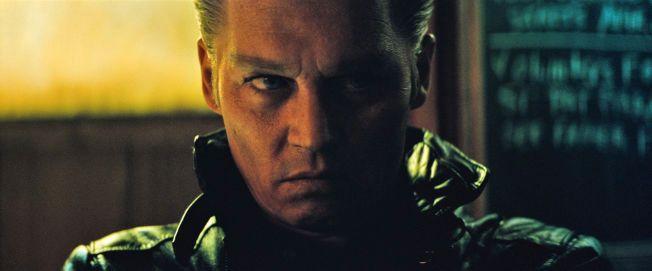 UGJENKJENNELIG: Slik ser Johnny Depp ut etter å ha sittet i sminkestolen før innspillingen av §'Black Mass».