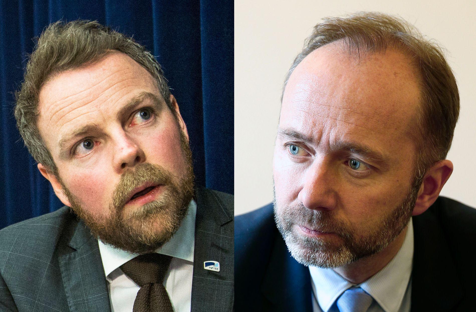 BEKYMRET: Både kunnskapsminister Torbjørn Røe Isaksen (H) og tidligere kunnskapsminister Trond Giske (Ap) mener utviklingen er alvorlig, og kan skape klasseskiller i skolen.