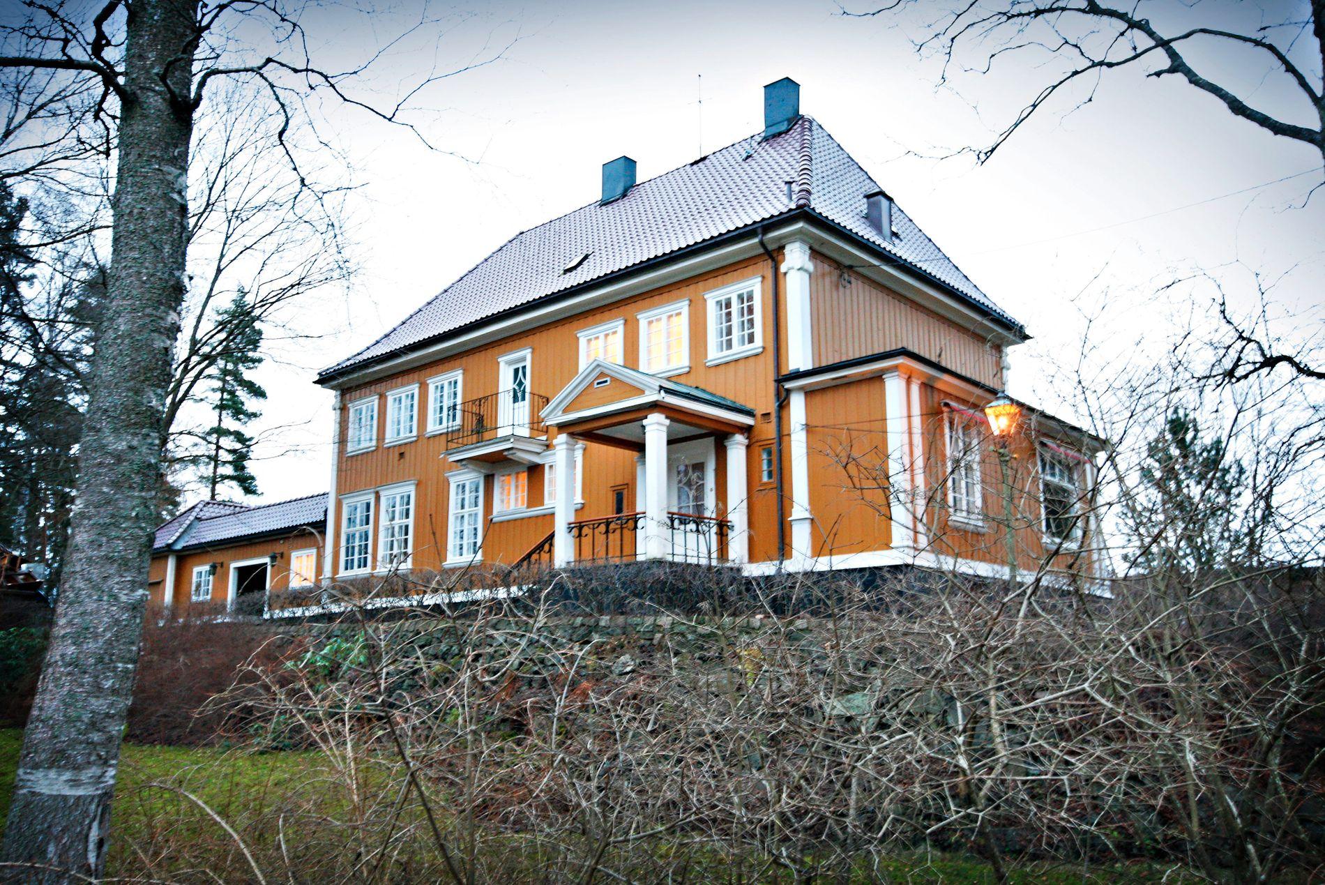 GRÅKAMVEIEN: Denne eneboligen på Slemdal i Oslo ble omtalt som årets trolig dyreste enebolig, da den ble solgt i 2011.
