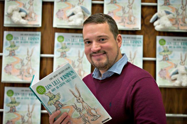 REDNINGSMANN: Svenske Carl-Johan Forssén Ehrlin har skrevet en bok som får barn til å sove i løpet av få minutter.